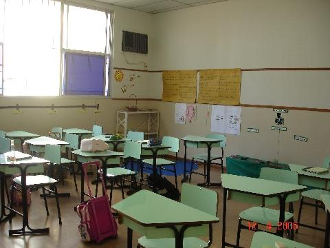 sala de aula da 2ªsérie do Ensino Fundamental